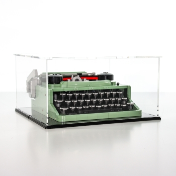 FiguSafe Vitrine für LEGO® Ideas Modells Schreibmaschine 21327 T/B/H 330x340x180 mm 01028