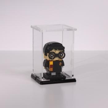 FiguSafe Vitrine für LEGO® BrickHeadz T/B/H 90x90x130 mm 01010