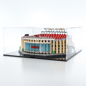 FiguSafe Vitrine für LEGO® Camp Nou – FC Barcelona 10284 T/B/H 520x540x230 mm 01030
