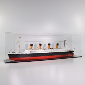 FiguSafe Vitrine für COBI 2840 # R.M.S Titanic (1916) T/B/H 200x980x300 mm 01003