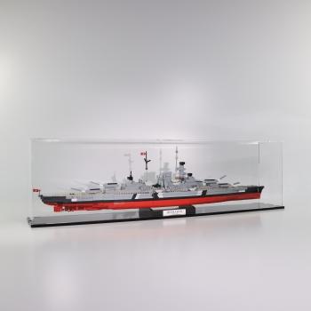 FiguSafe Vitrine für COBI 4819 # Bismarck T/B/H 150x900x250 mm 01005