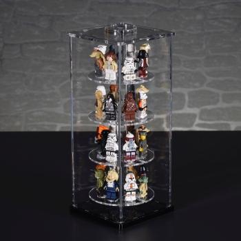 SingleTower Vitrine für 32 eurer LEGO® Sammelserien Figuren