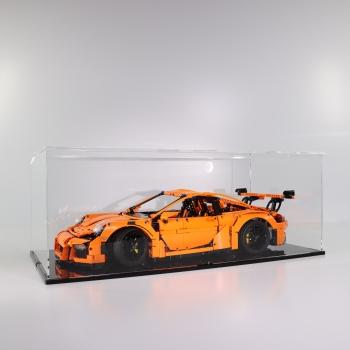 FiguSafe Vitrine für LEGO® Porsche 911 GT3 RS 42056 T/B/H 330x660x250 mm 01006