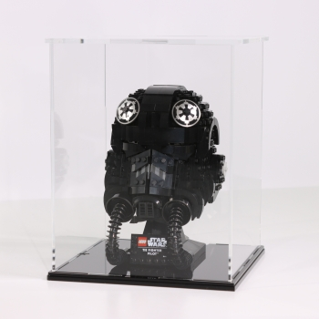 FiguSafe Vitrine für LEGO® Star Wars™ TIE Fighter Pilot™ Helm 75274 T/B/H 200x200x250 mm 01012