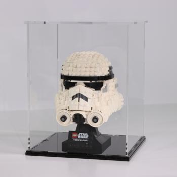 FiguSafe Vitrine für LEGO® Star Wars Stormtrooper™ Helm 75276 T/B/H 200x200x250 mm 01012