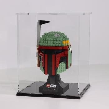 FiguSafe Vitrine für LEGO® Star Wars™ Boba Fett™ Helm 75277 T/B/H 200x200x250 mm 01012