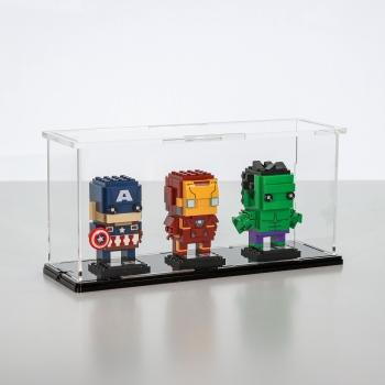 FiguSafe Vitrine für LEGO® BrickHeadz T/B/H 90x270x130 mm 01014