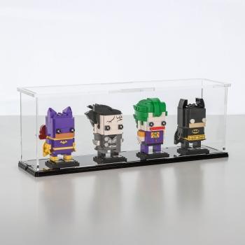 FiguSafe Vitrine für LEGO® BrickHeadz T/B/H 90x360x130 mm 01015