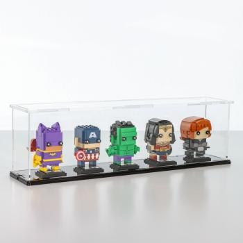 FiguSafe Vitrine für LEGO® BrickHeadz T/B/H 90x450x130 mm 01016