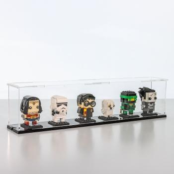 FiguSafe Vitrine für LEGO® BrickHeadz T/B/H 90x540x130 mm 01017
