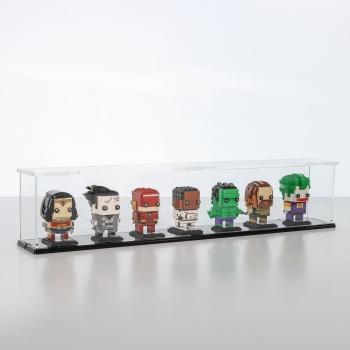 FiguSafe Vitrine für LEGO® BrickHeadz T/B/H 90x630x130 mm 01018