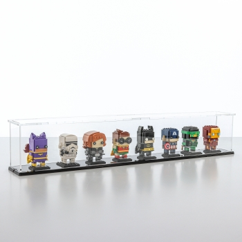 FiguSafe Vitrine für LEGO® BrickHeadz T/B/H 90x720x130 mm 01019
